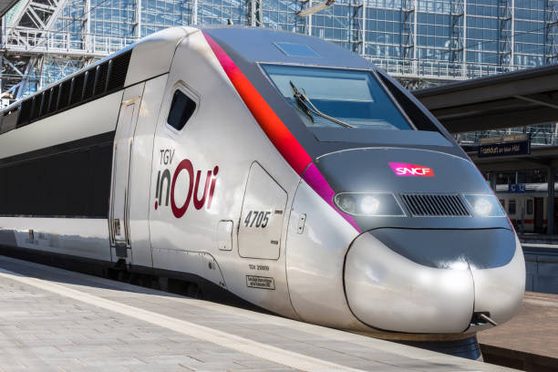 tgv in oui train in frankfurt am Main hesse Deutschland – Foto