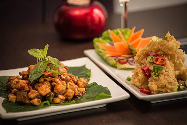 Thai Appetiser stock photo