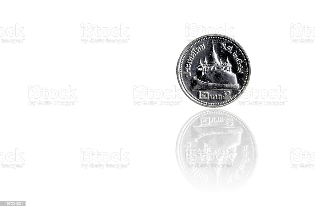 Thai Baht royalty-free stock photo