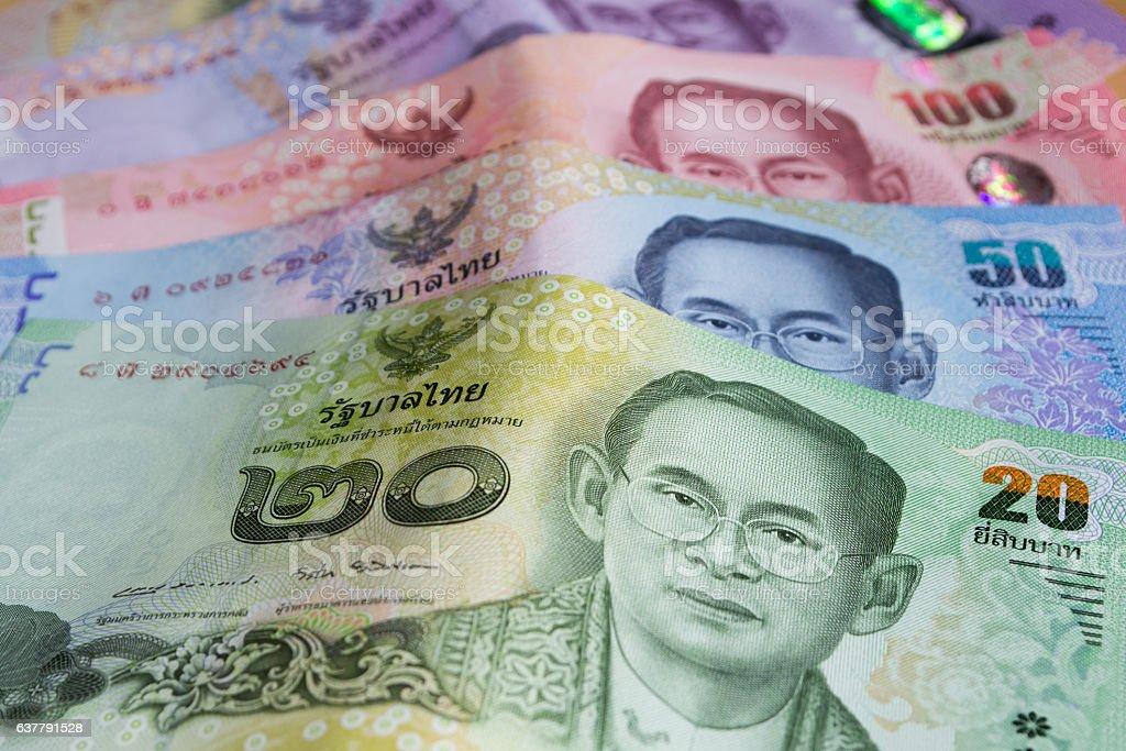 Thai banknote stock photo