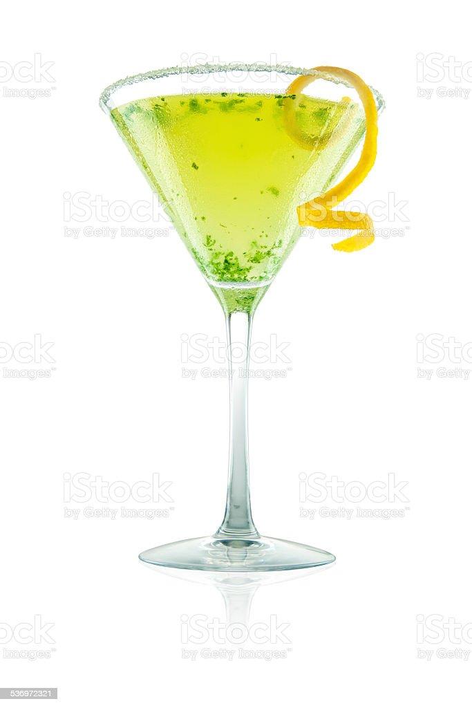 Thai Basil Lemondrop stock photo
