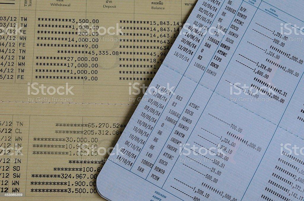 Thai Book bank royalty-free stock photo