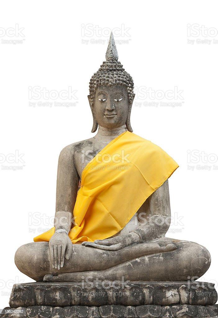 Thai Buddha Statues stock photo