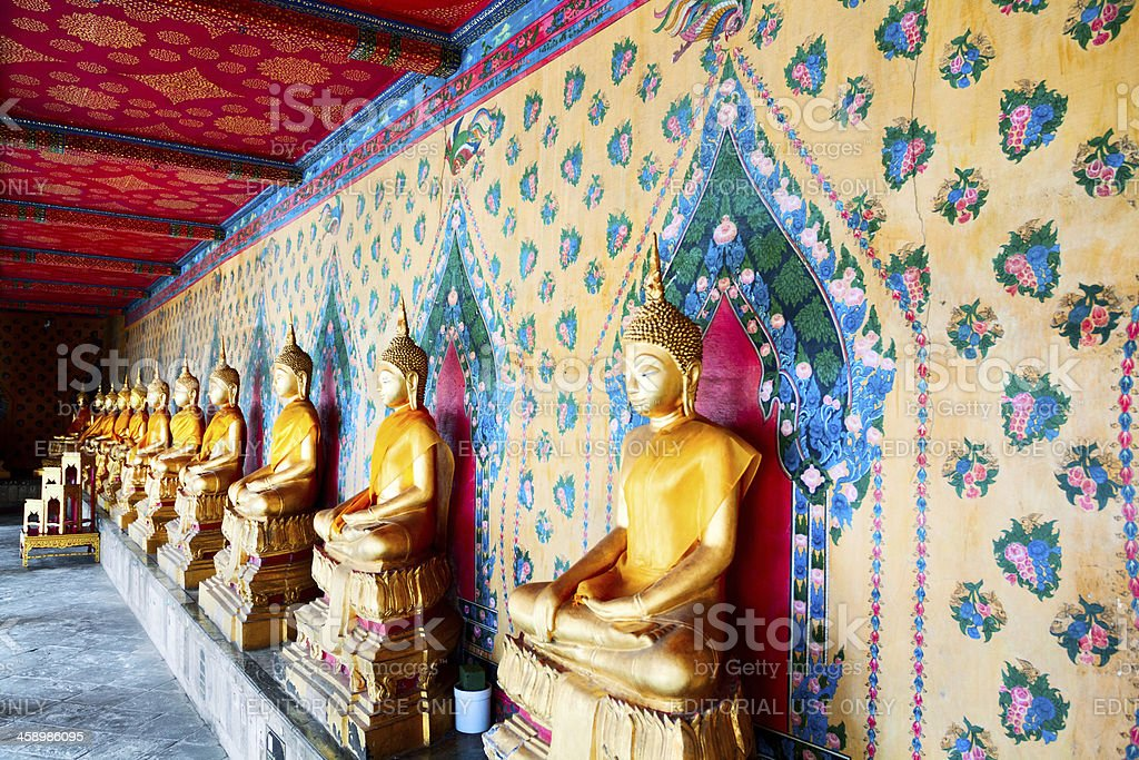 Thai Buddhas royalty-free stock photo
