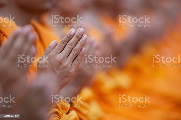 Thai buddhist monks waiing in respect of the lord buddha at a temple picture id645567092?b=1&k=6&m=645567092&s=612x612&h=m2cfond1c3pbjh9s3swk3svqhyzr28qpehjrfmbyrv4=