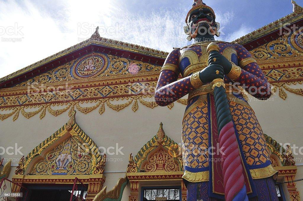 Thai Buddhist Temple royalty-free stock photo