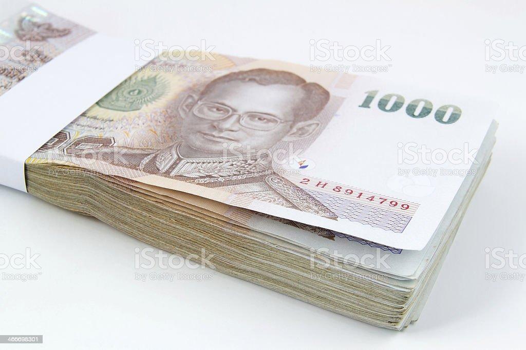 Thai Cash royalty-free stock photo
