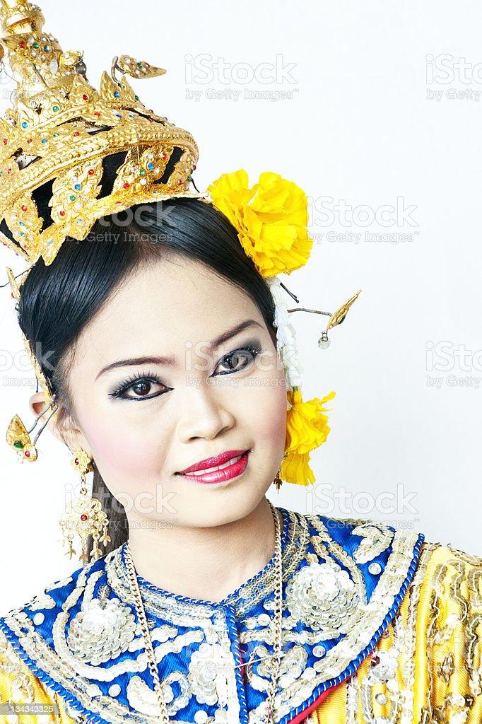 Thai Tancerz klasyczny zbiór zdjęć royalty-free