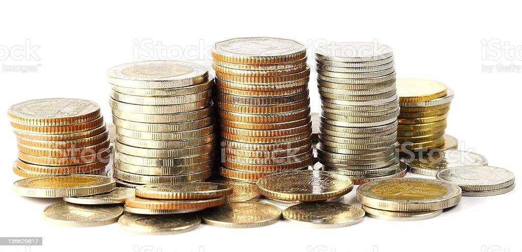 Thai Coins royalty-free stock photo