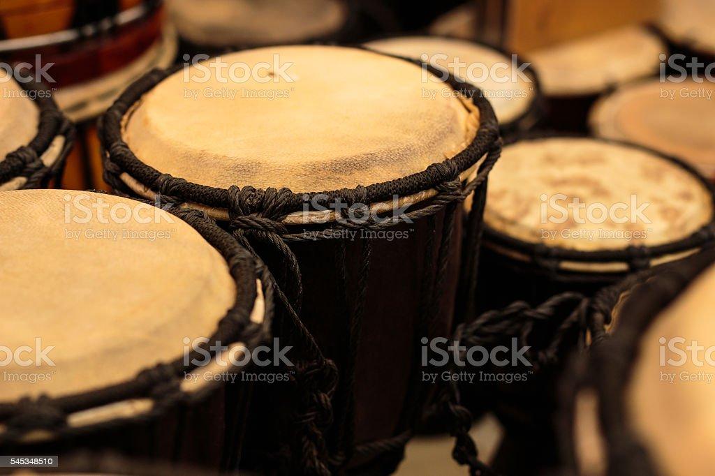 Thai country drum stock photo
