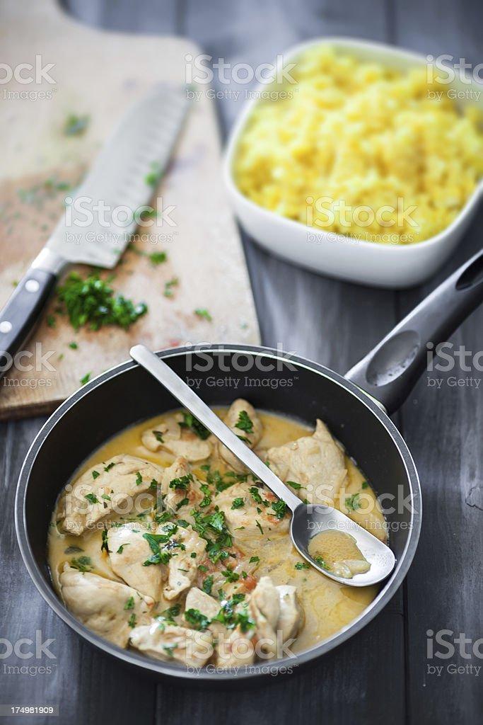 Thai-curry-Huhn – Foto