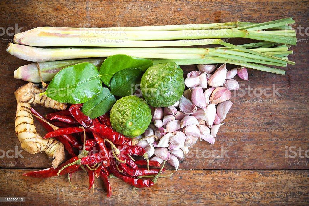 Thai curry Ingredient royalty-free stock photo