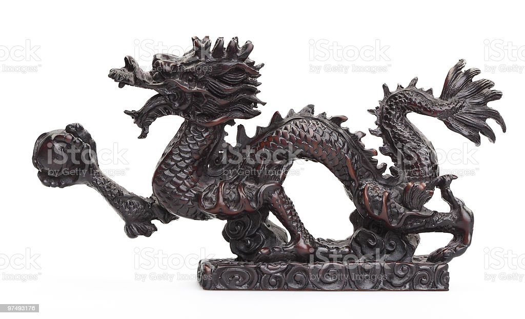 Thai dragon royalty-free stock photo