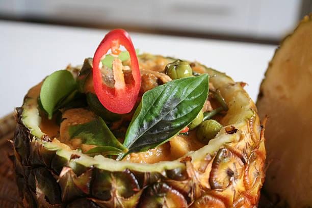 Thai Duck Curry stock photo