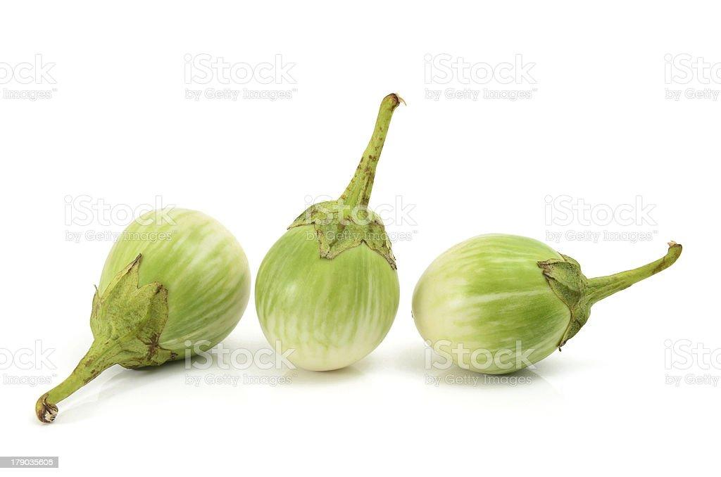 Thai Eggplant stock photo