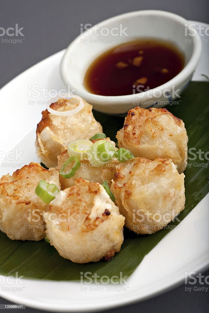 Thai Food Appetizer royalty-free stock photo