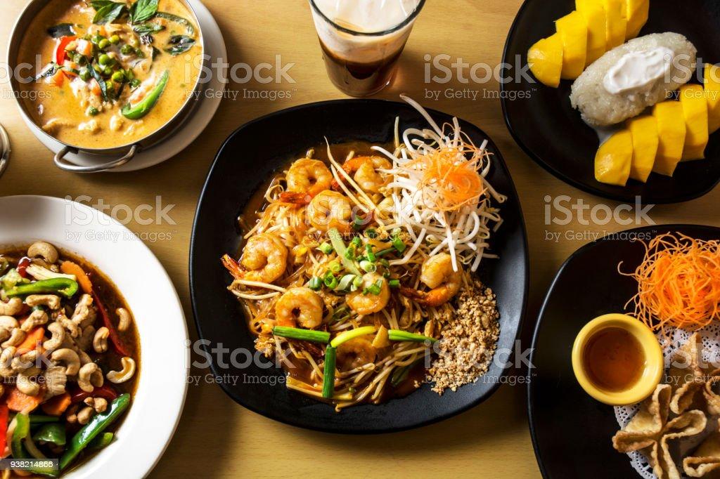 タイ料理の英雄ショット ストックフォト