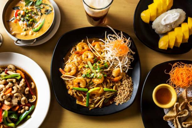 タイ料理の英雄ショット - タイ料理 ストックフォトと画像