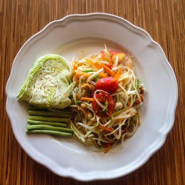 Thai food (as TUM) stock photo