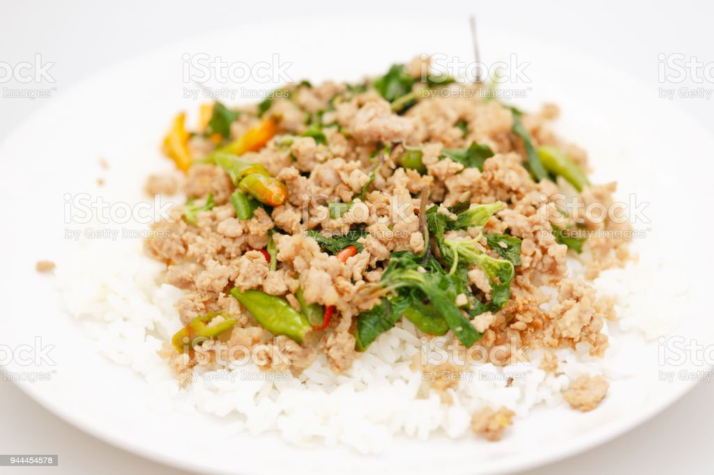 Thai Food. stock photo