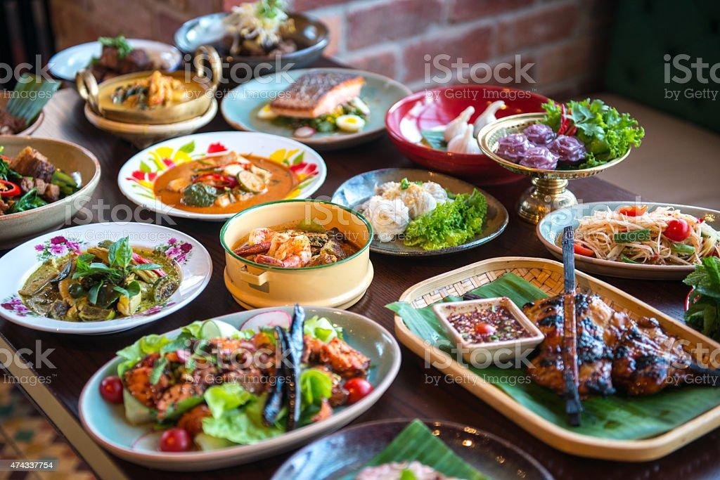 Cuisine thaïlandaise. - Photo