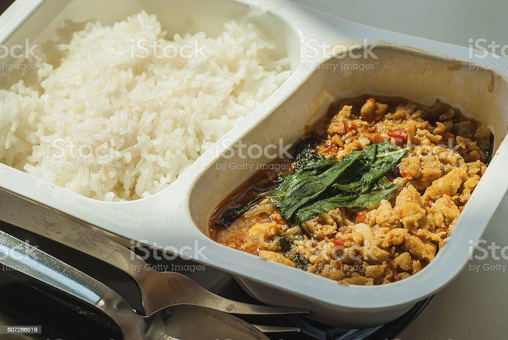 Thai Frozen Food stock photo