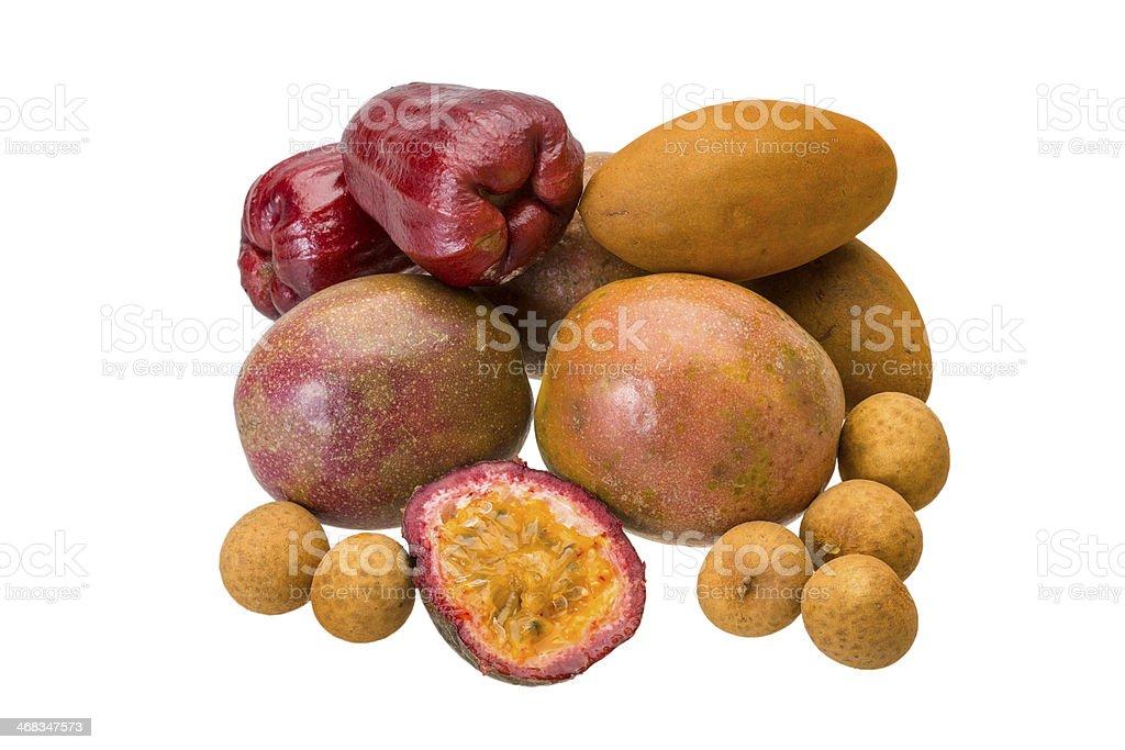 Thai fruits royalty-free stock photo