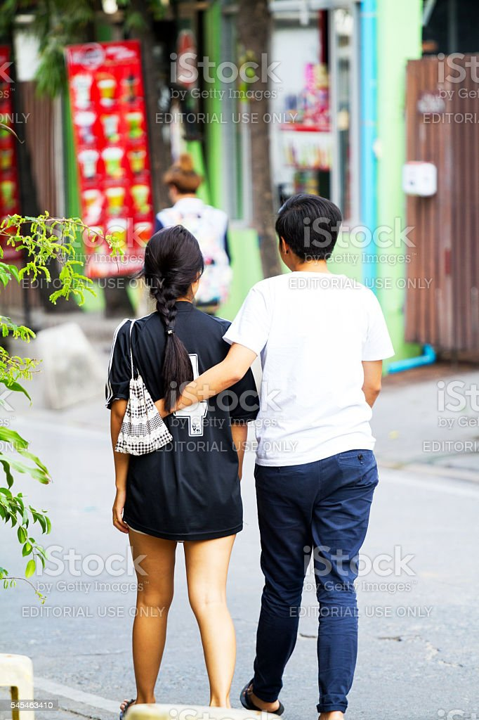 Thai Girl With Tomboy Stock Photo - Download Image Now - iStock