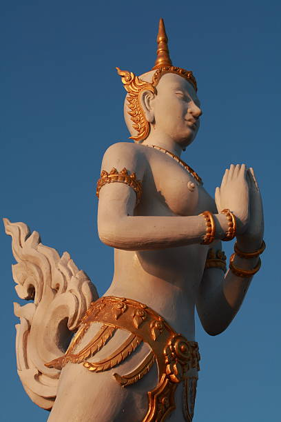 Thai God (Thep Kinnaree) stock photo