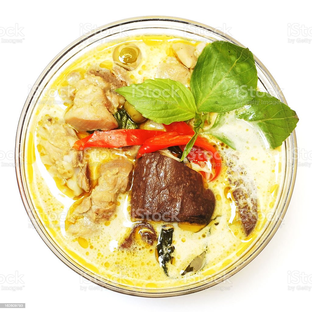 Thai Green Curry royalty-free stock photo