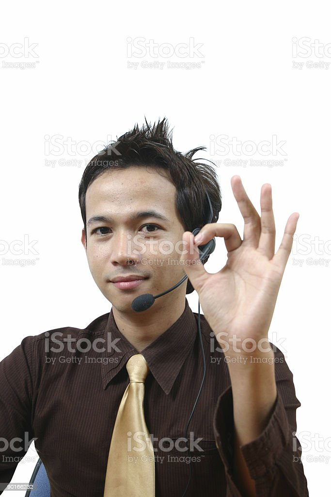 thai guy 3 royalty-free stock photo