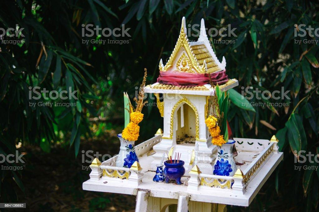 Thai house for spirits royalty-free stock photo