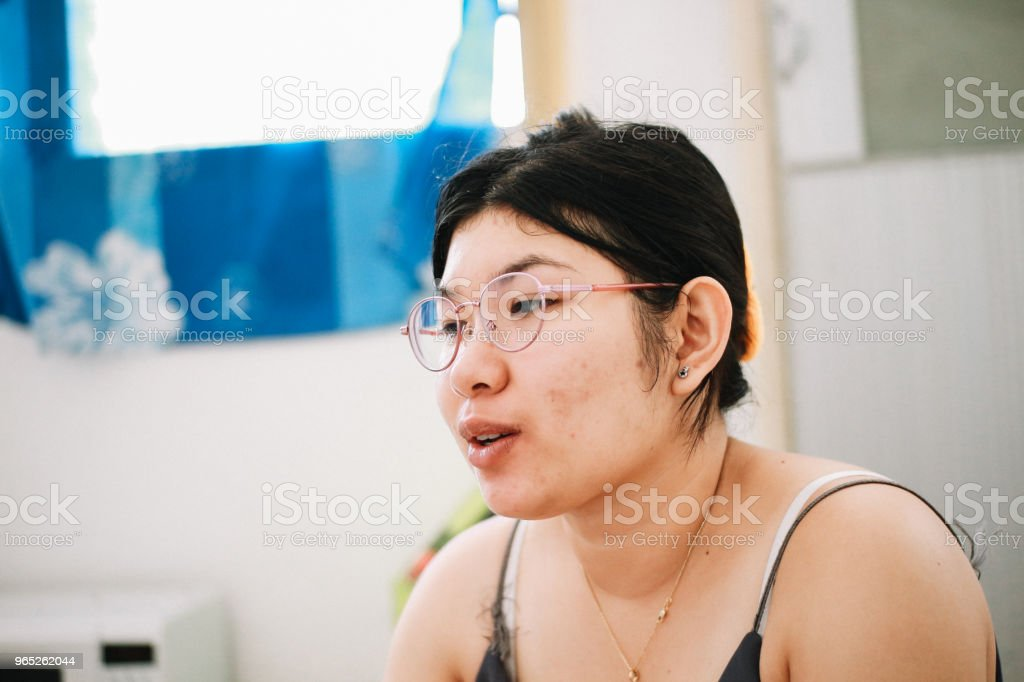 Thai Housewife royalty-free stock photo