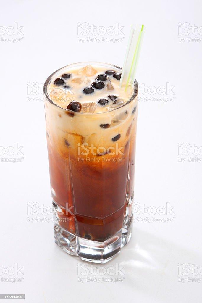 Thai Ice Tea stock photo