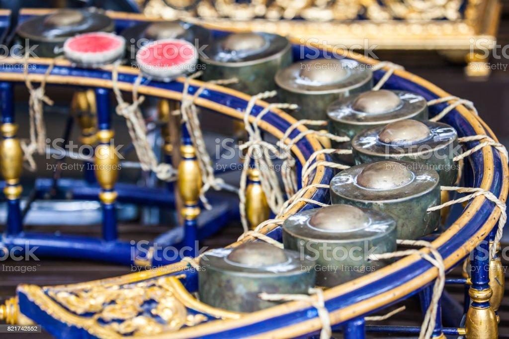 Thai instruments stock photo