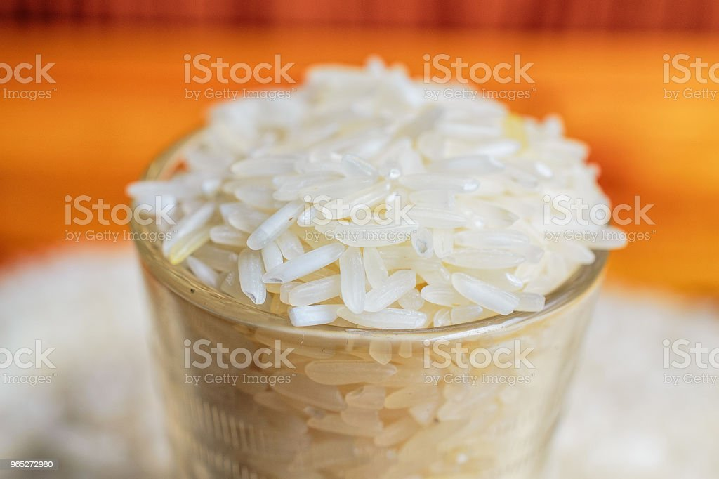 Thai Jasmine Rice royalty-free stock photo