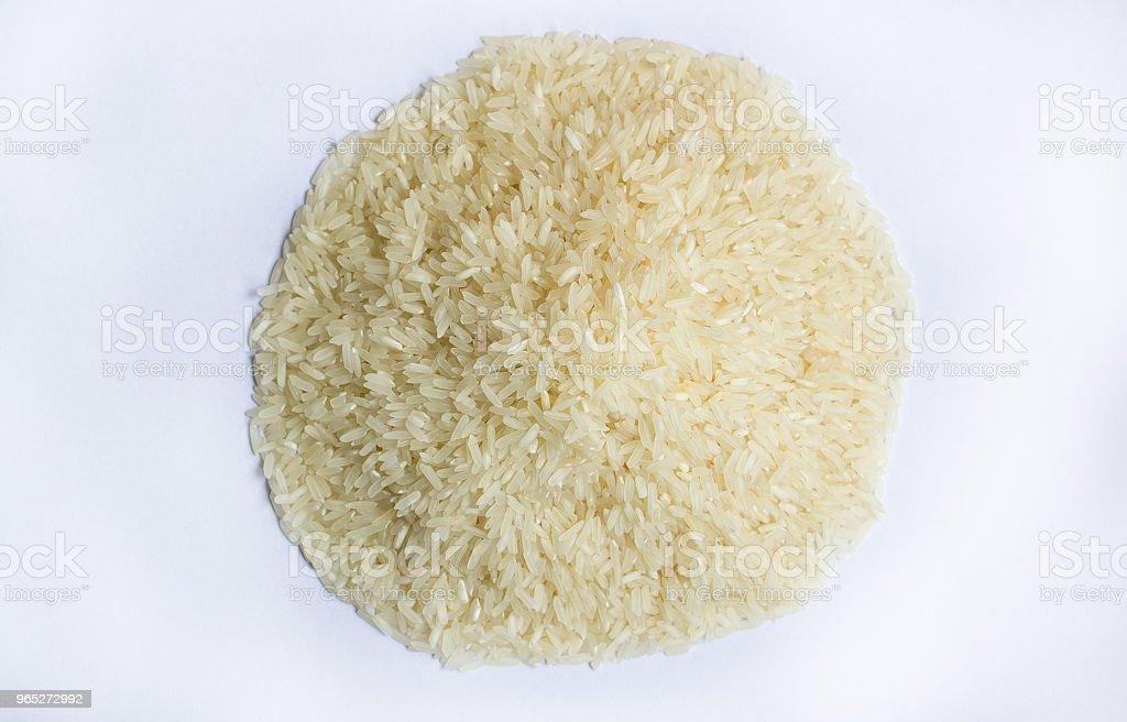 Thai Jasmine Rice royalty-free stock photo