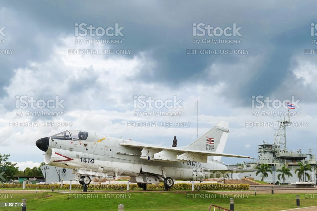 Thai Jet Airplane stock photo