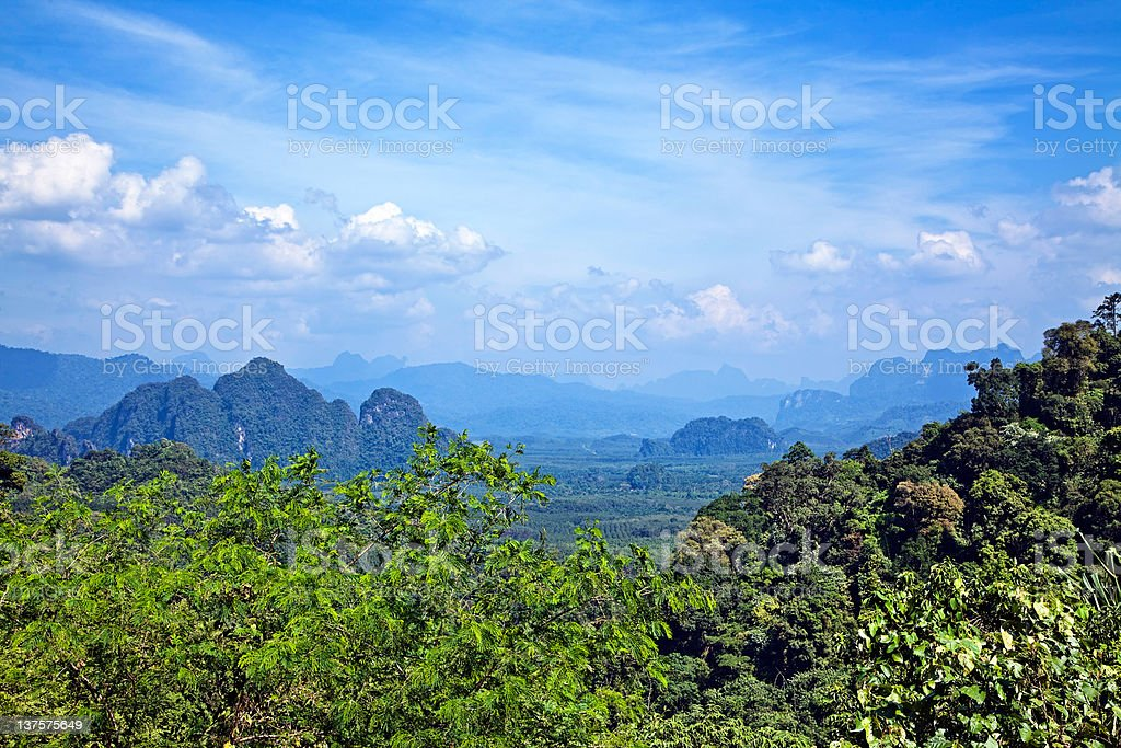 Thai landscape royalty-free stock photo