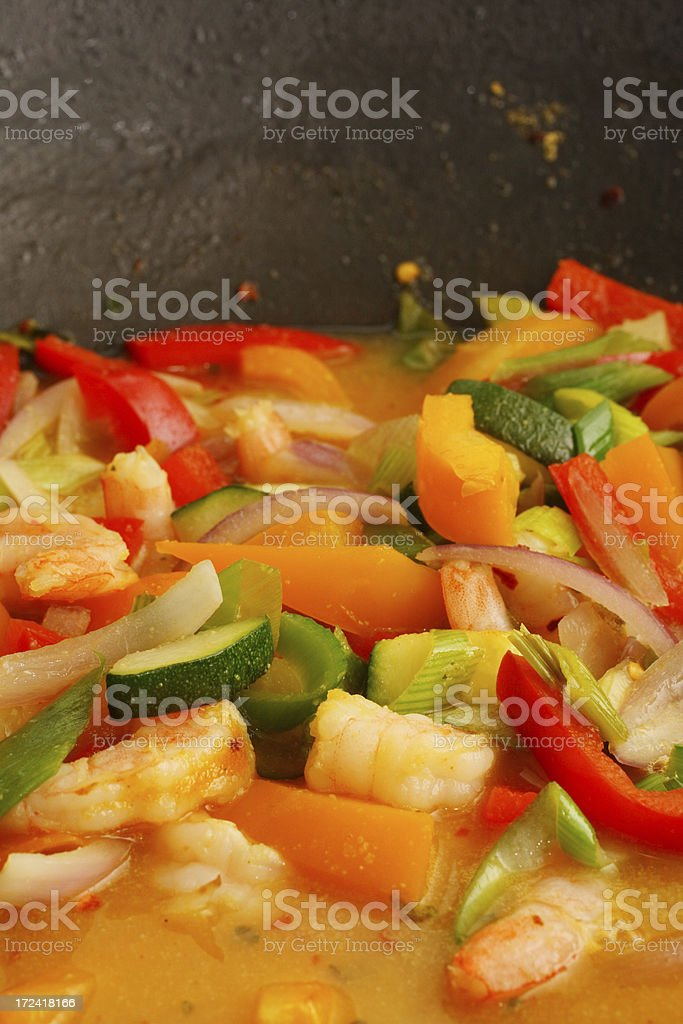 thai lime curry royalty-free stock photo