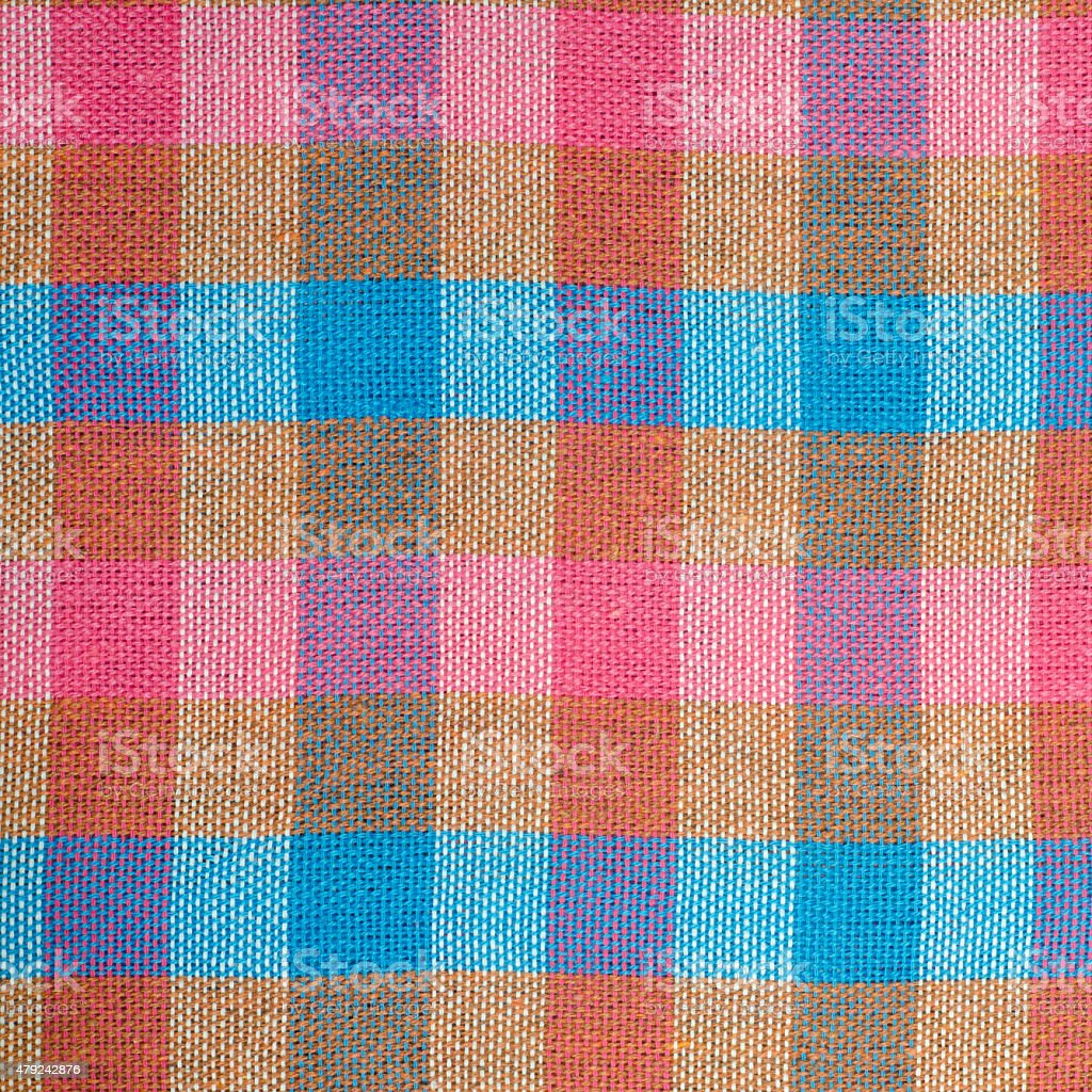 Thai Loincloth style texture stock photo