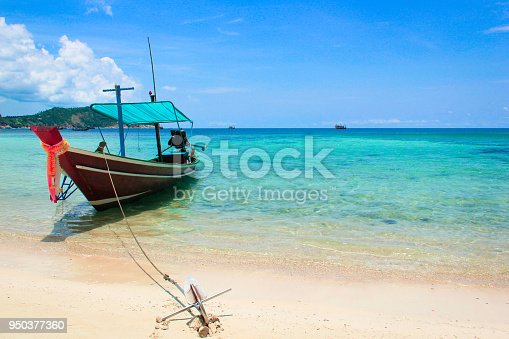 istock Thai long tail boat 950377360