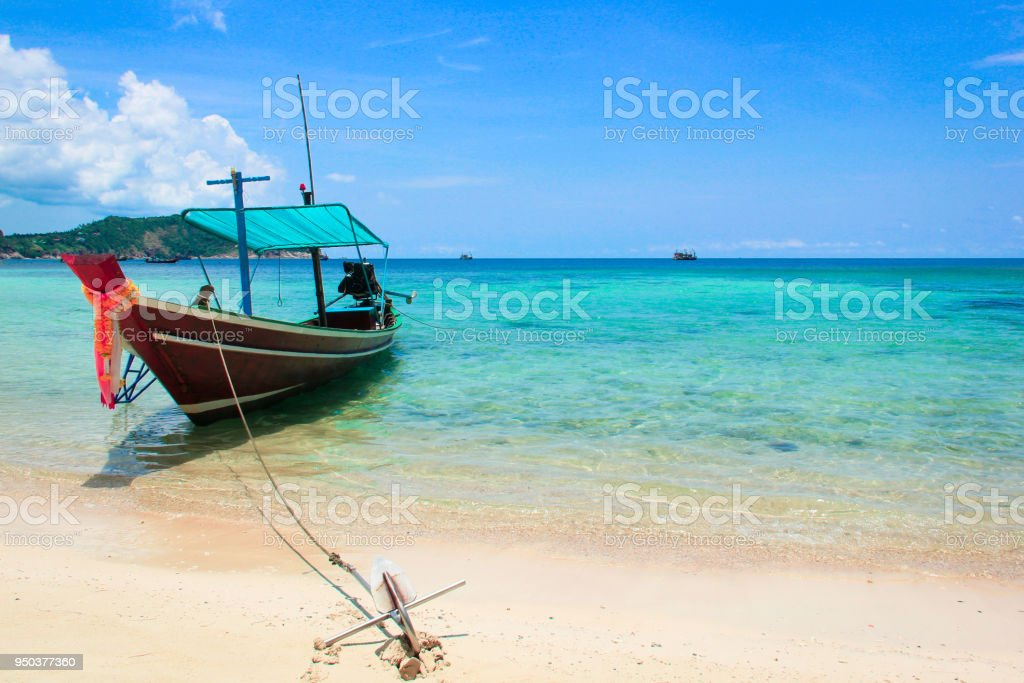 Thai en bateau à longue queue - Photo