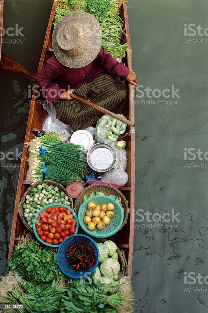 Thai Market royalty-free stock photo
