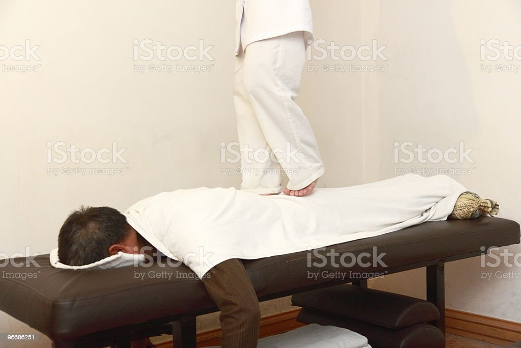 Thai Massage royalty-free stock photo