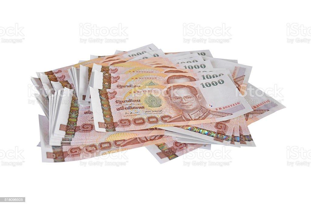 Thai money stock photo
