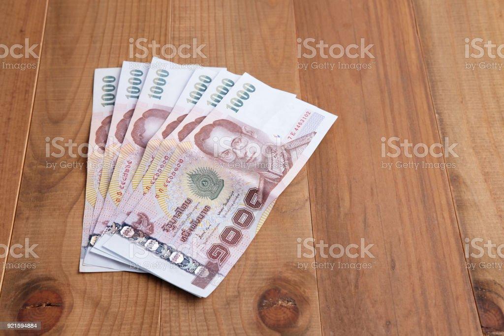 Thai money. stock photo