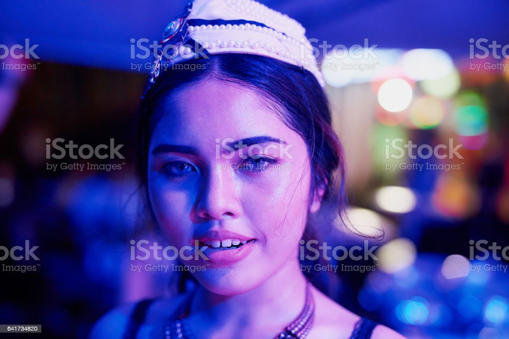 Thai nightlife stock photo
