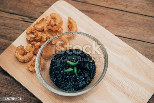 istock Thai northern Crab Paste Chilli Pepper Sauce 1180754421