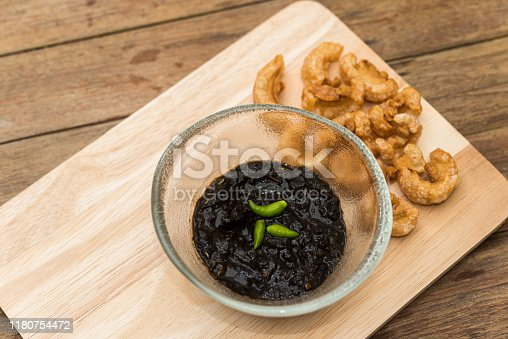 istock Thai northern Crab Paste Chilli Pepper Sauce 1180754472